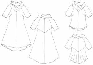 Knitterkleid techn Zeichn alle