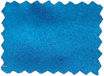 Seide sandgewaschen kornblumenblau