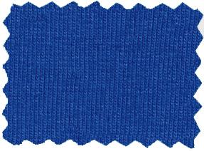 baumwoll jersey royal blau