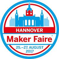 Vortrag auf der Maker Faire in Hannover am 27.8. um 14.20 Uhr