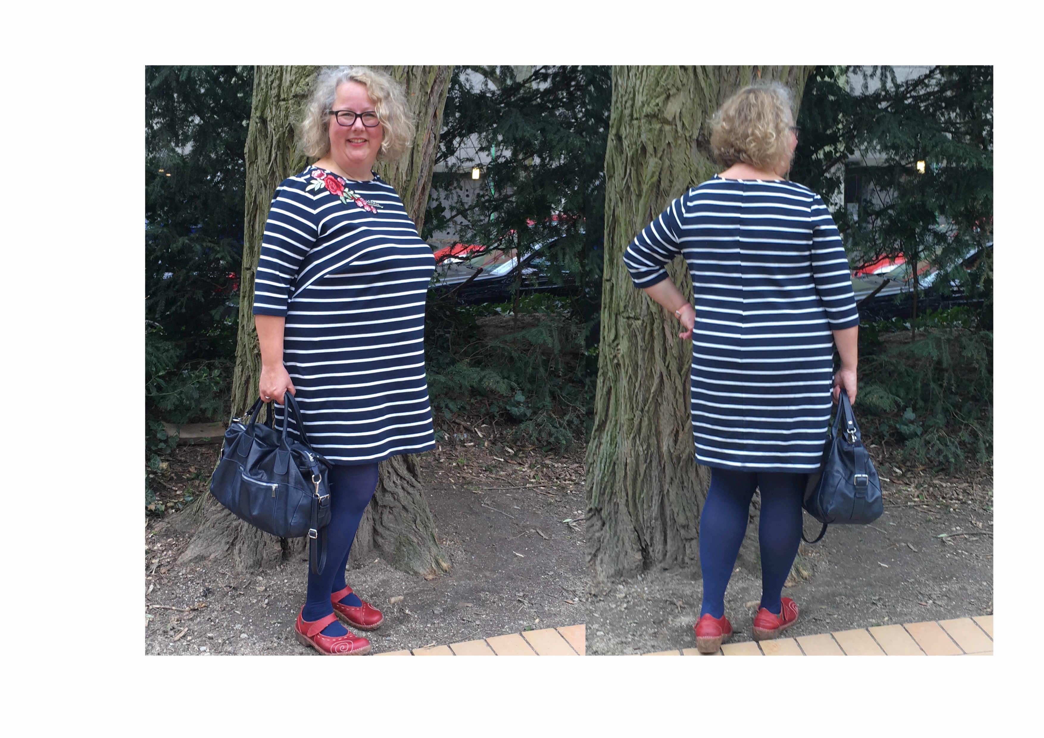 Kleid Nr 1 von rosa p mit einer FBA vergrößern – Teil 1