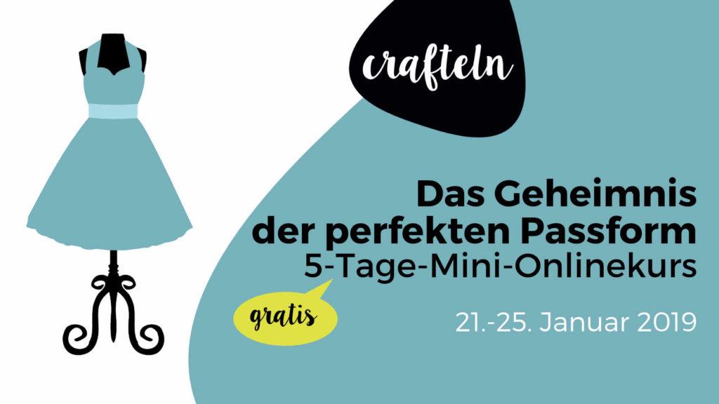 """5-Tage-Mini-Onlinekurs """"Das Geheimnis der perfekten Passform"""""""