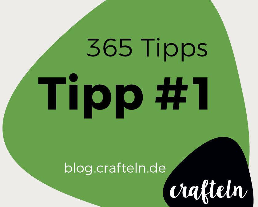 "365-Tipps-Challenge: Tipp #1 ""Problem zerlegen"""