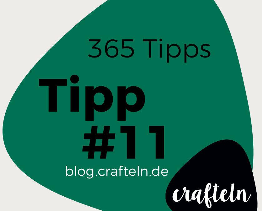 365-Tipps-Challenge: Tipp #11 Abnäherfäden verknoten