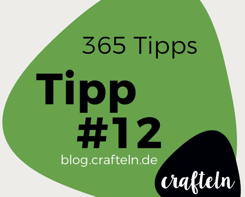 365-Tipps-Challenge: Tipp #12 Abnäher bügeln