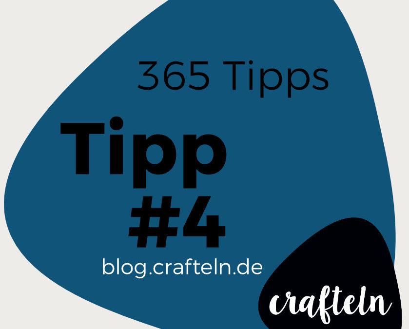 365-Tipps-Challenge – Tipp #4: Gummi oder Band in einen Tunnel einziehen