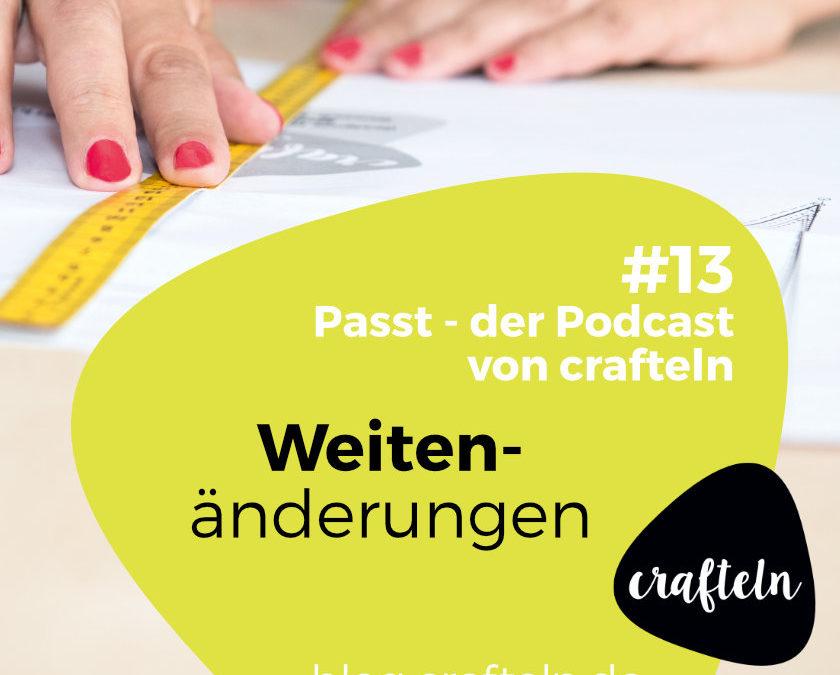 Podcast Episode #13: Weitenänderungen