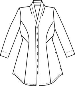 Kimonobluse von crafteln