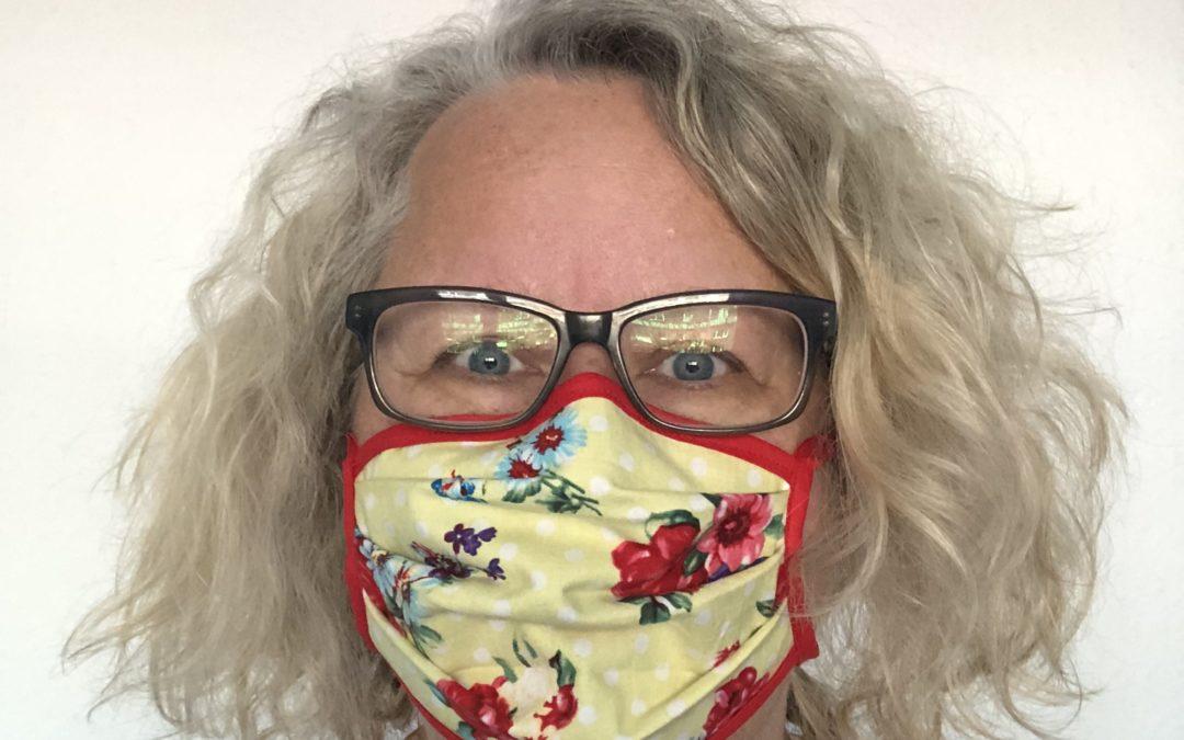 Gesichtsmaske für Mund und Nase nähen