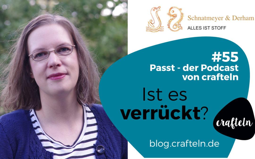 FrauCrafteln im Gespräch mit Constanze Derham von Schnatmeyer & Derham – Passt Podcast Episode #55