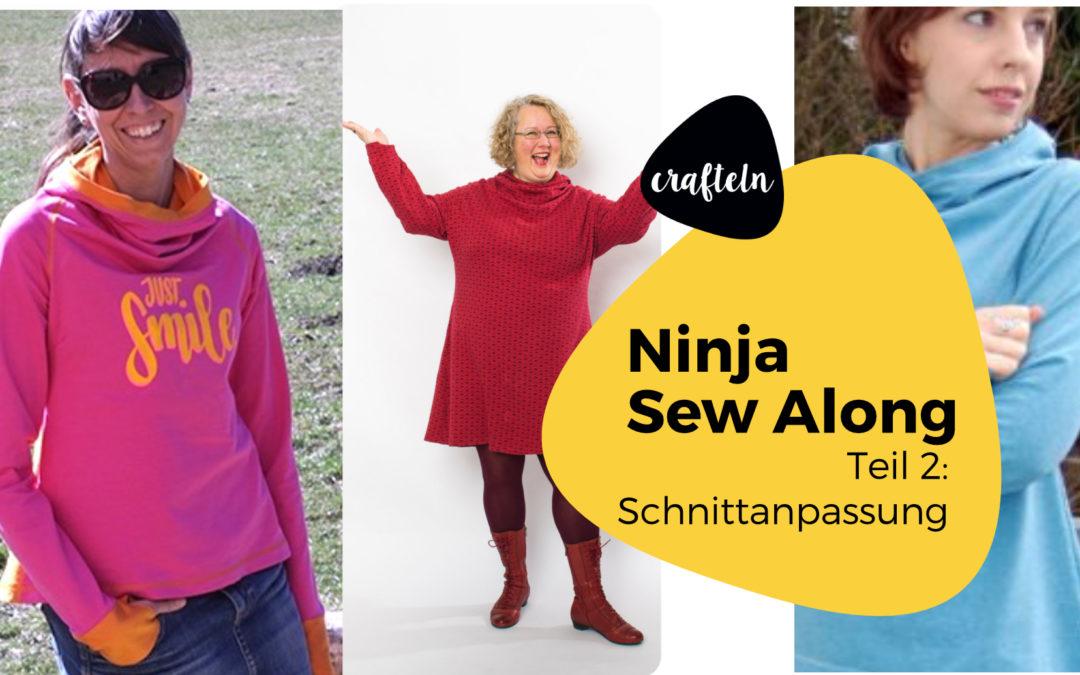 Ninja nähen – Ninja Sew Along Teil 3