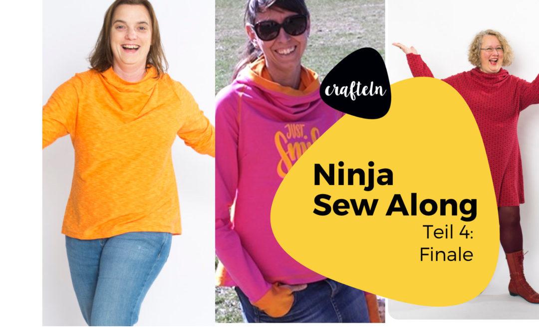 Ninja Finale – Ninja Sew Along Teil 4