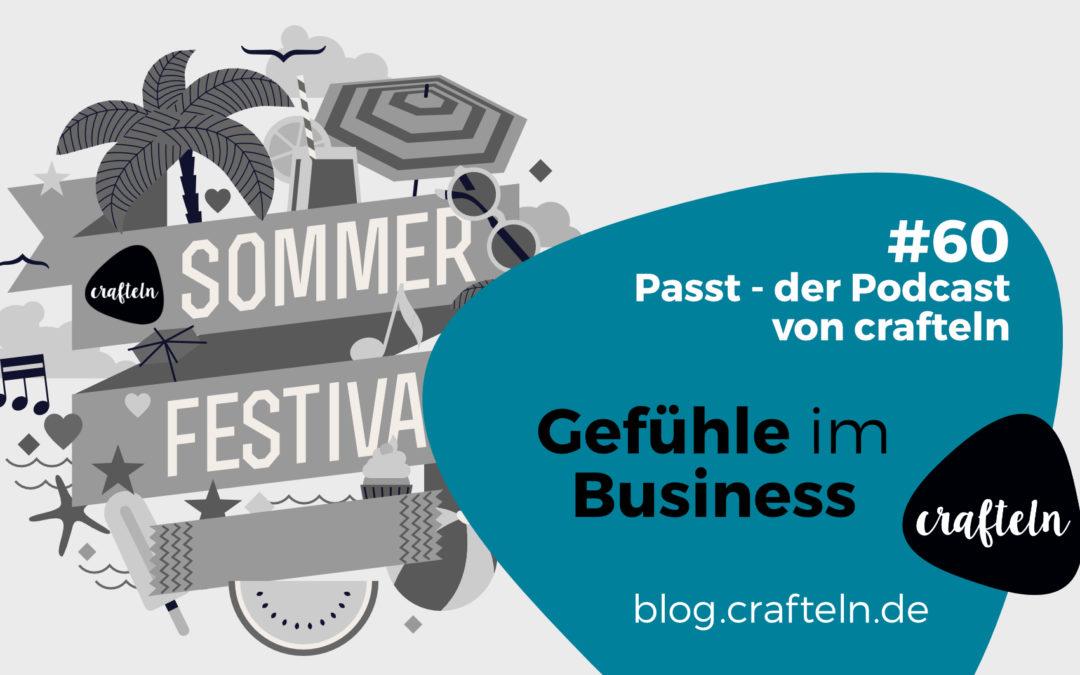 Gefühle im Business – Passt Podcast Episode #60