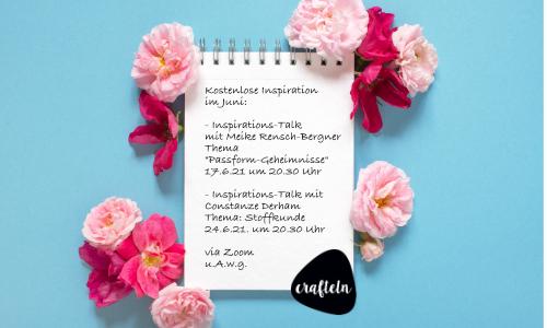 Inspirations-Talk-Termine im Juni