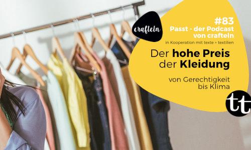 Gespräche über Kleidung – Episoden 83-85